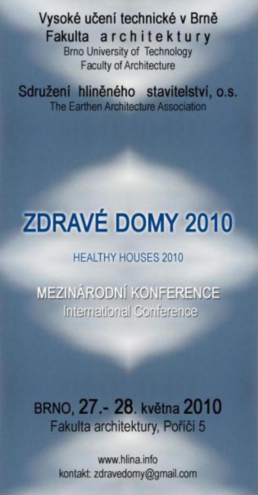 konference Zdravé domy