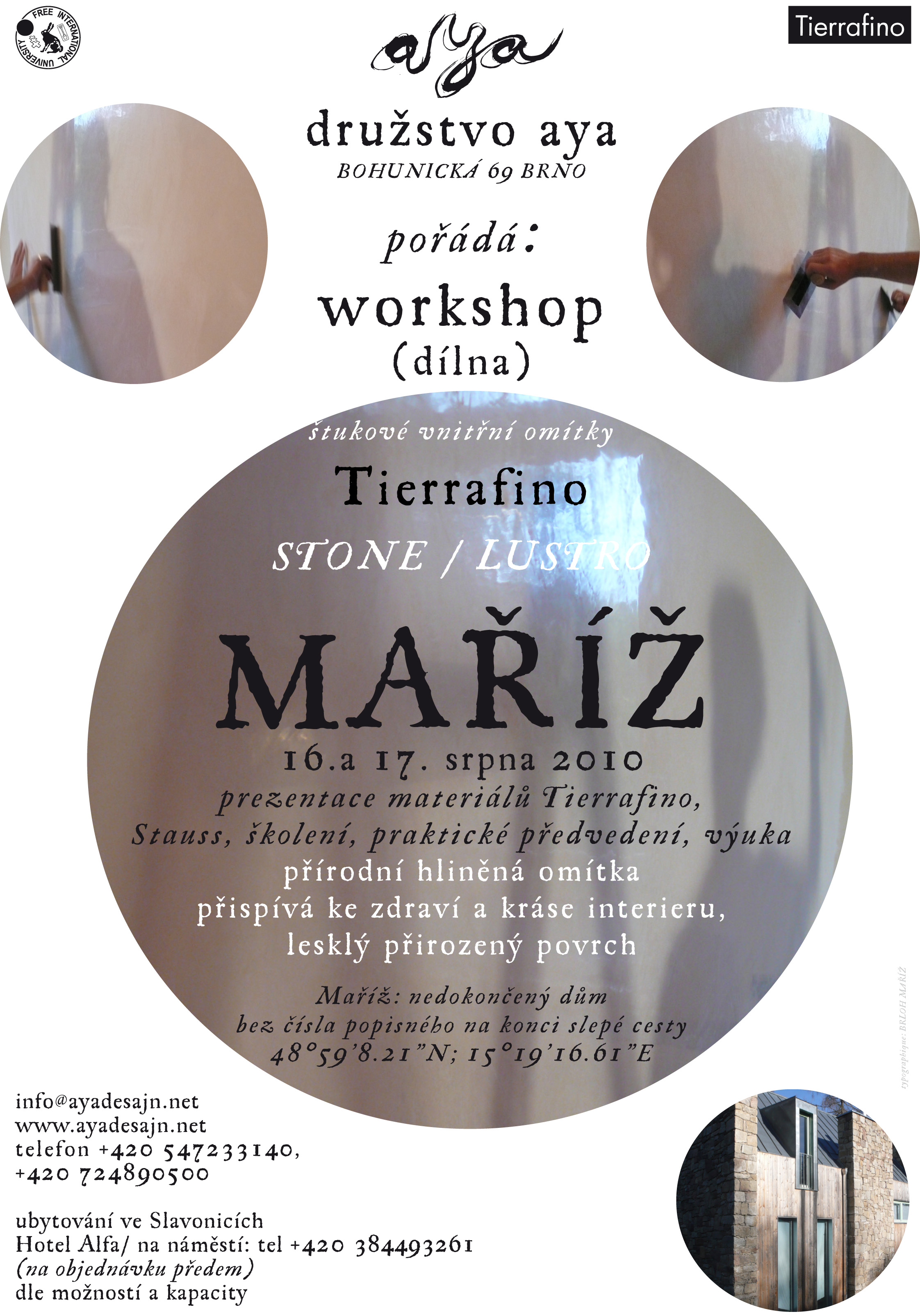 workshop Maříž