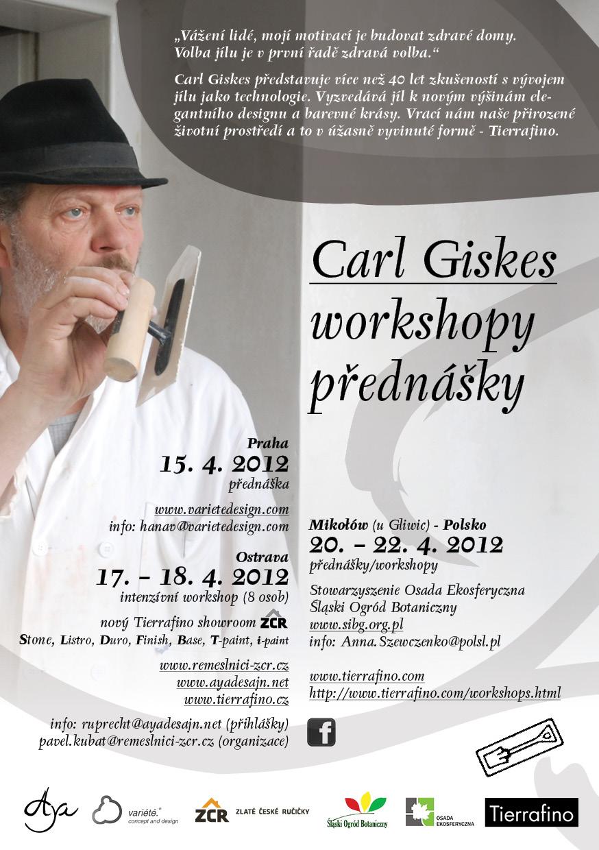 CARL GISKES - workshopy