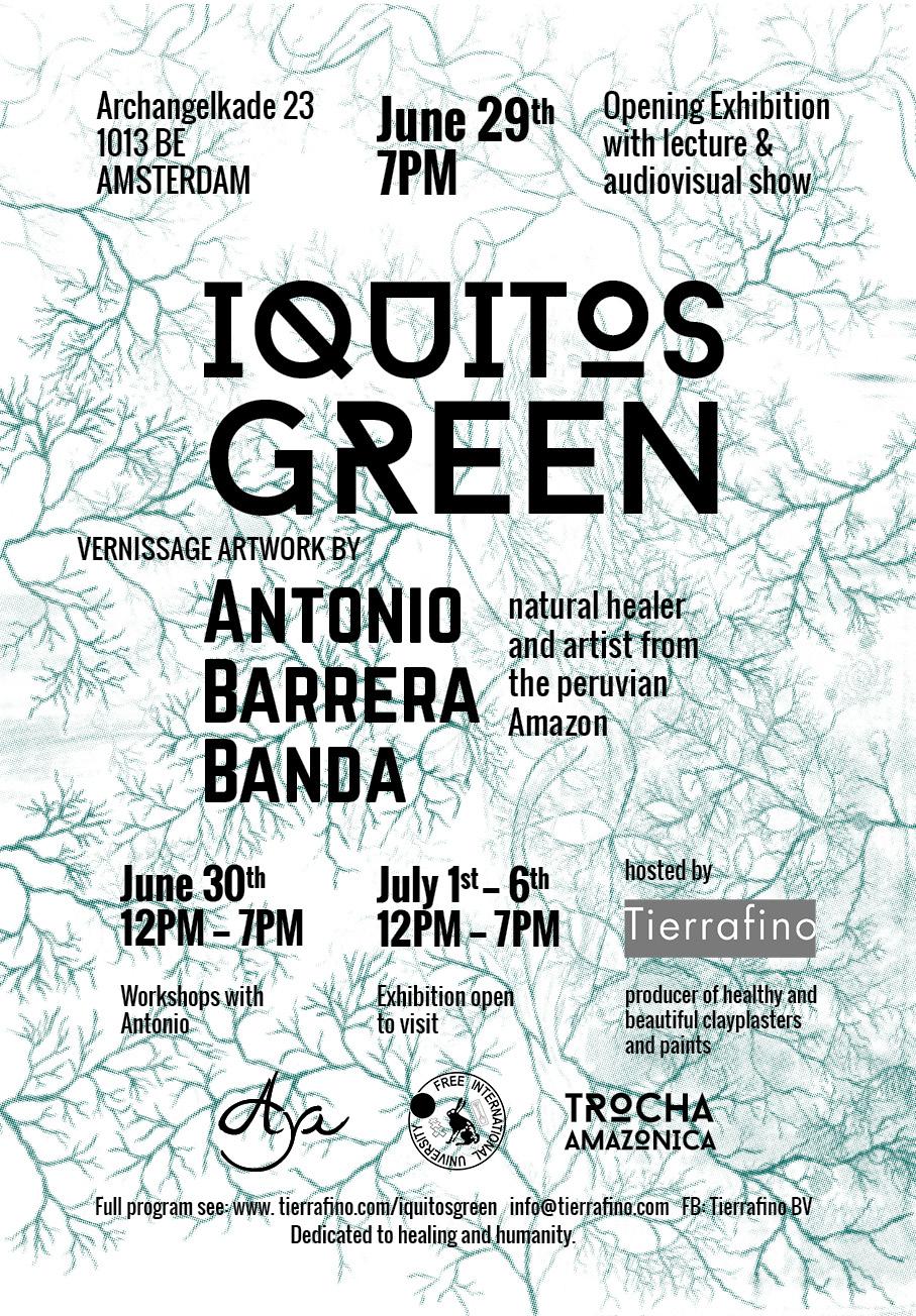 výstava IQUITOS GREEN
